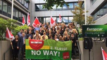 Aktive Mittagspause, Europcar Hamburg, 4. Juli 2017