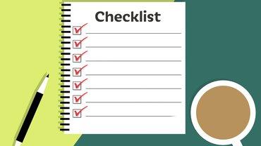 Checkliste als Formular